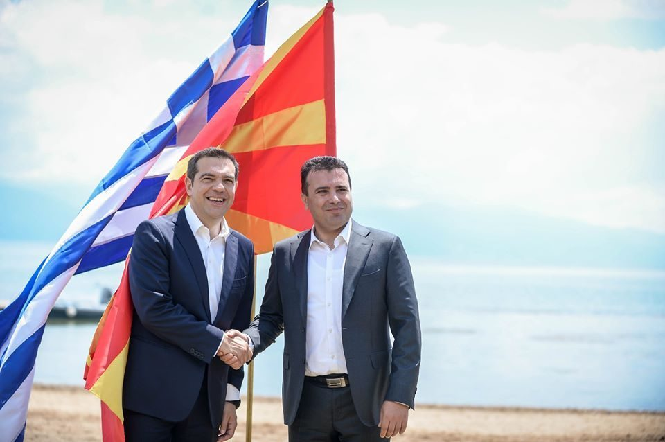Zaev and Dimitrov praise the Prespa treaty on the anniversary of its signing