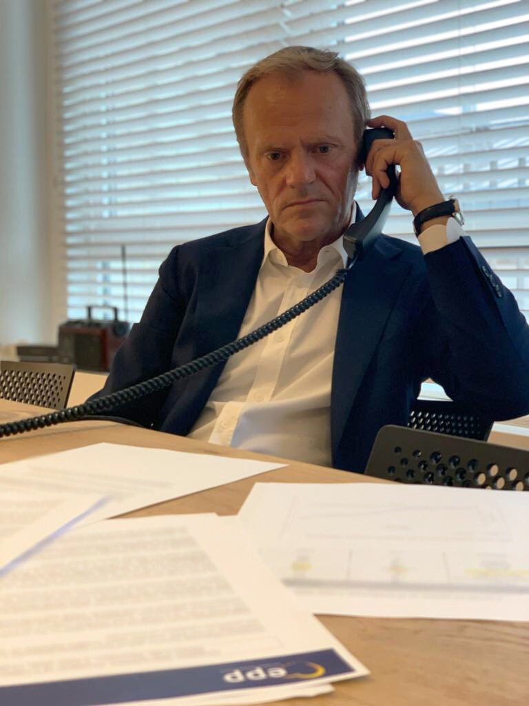 Tusk after conversation with Mickoski: All needs to be done for the protection of the citizens