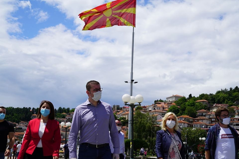 VMRO begins its election campaign in Ohrid, Mickoski promises a positive campaign