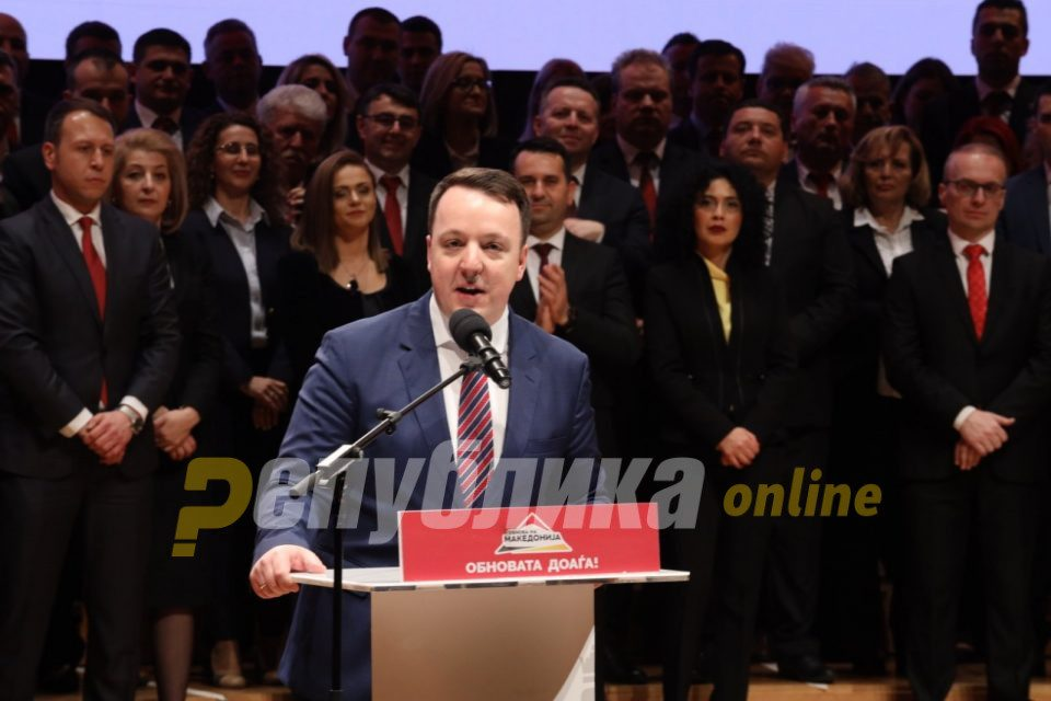 Nikoloski urges citizens to go to the polls en masse: In the fourth electoral district, my party and I hold a lead of four percent