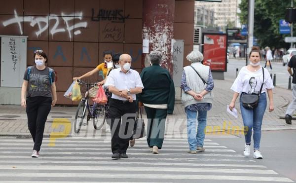 1,040 active Covid-19 cases in Skopje alone