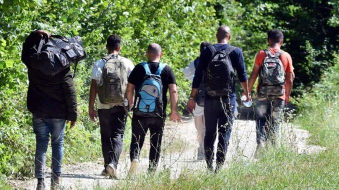Border police intercepted 10 illegal migrants near Kumanovo