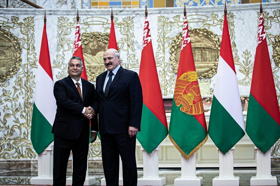 Orban in first visit to Belarus