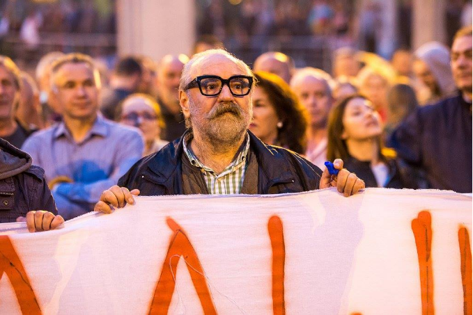 Macedonians in Slovenia call on the head of the Film Agency Gorjan Tozija to resign after he insulted Prime Minister Janez Jansa