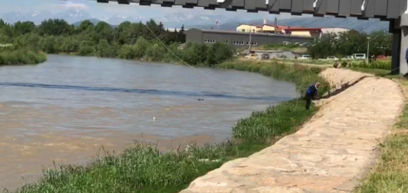 Elderly woman found drowned in the Vardar river