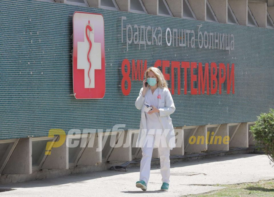 Six nurses tested positive at one of the two main Covid-19 treatment centers in Skopje