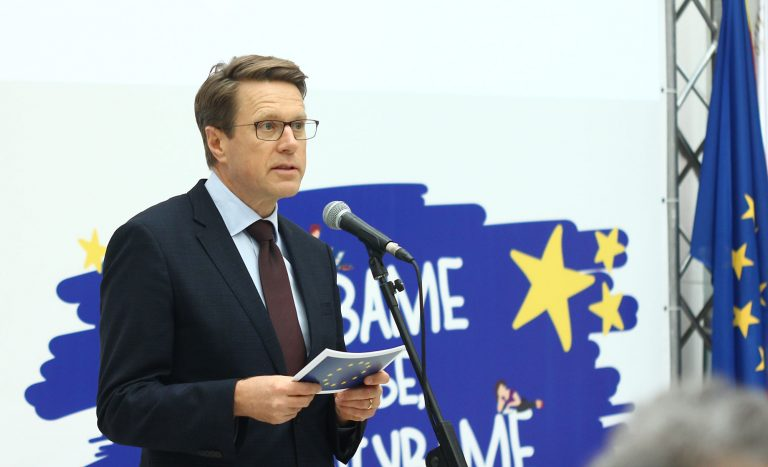 EU Ambassador Zbogar says public health should be taken in consideration while determining the date for elections