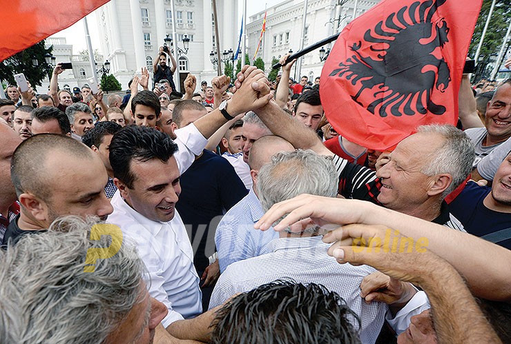 Zaev has no problem with an Albanian prime minister