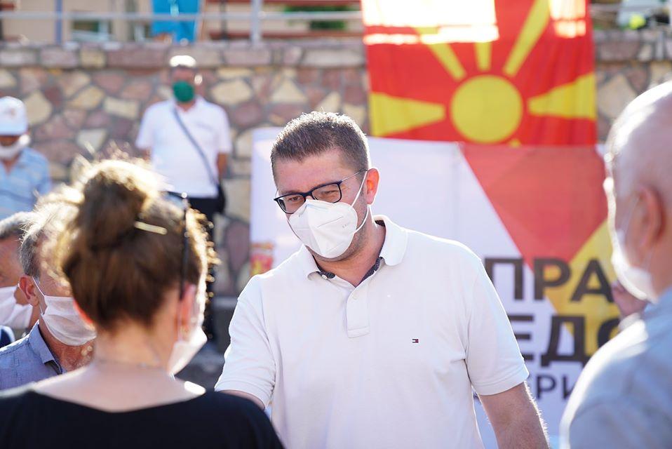 Mickoski in Mavrovo and Rostuse: It's time to fix Macedonia