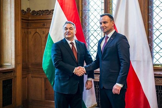 "V4: Viktor Orban calls Andrzej Duda's victory ""critically important"""