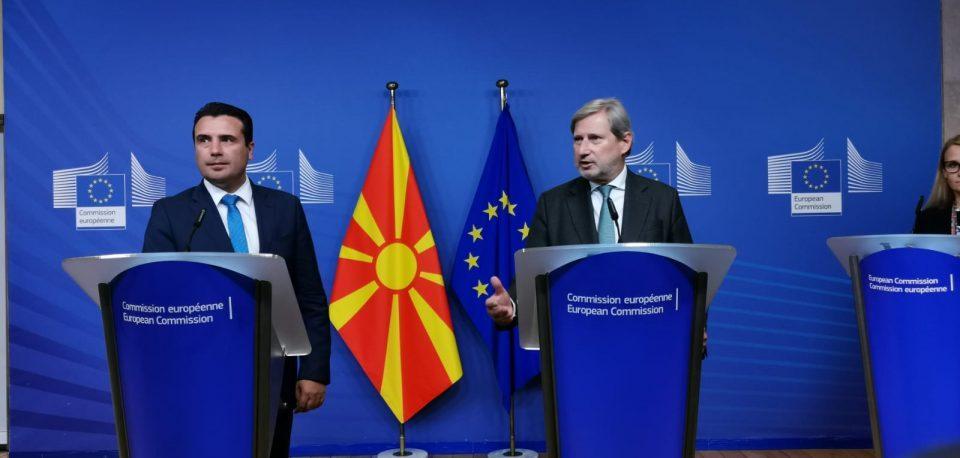 Zaev misrepresented the EU negotiating framework