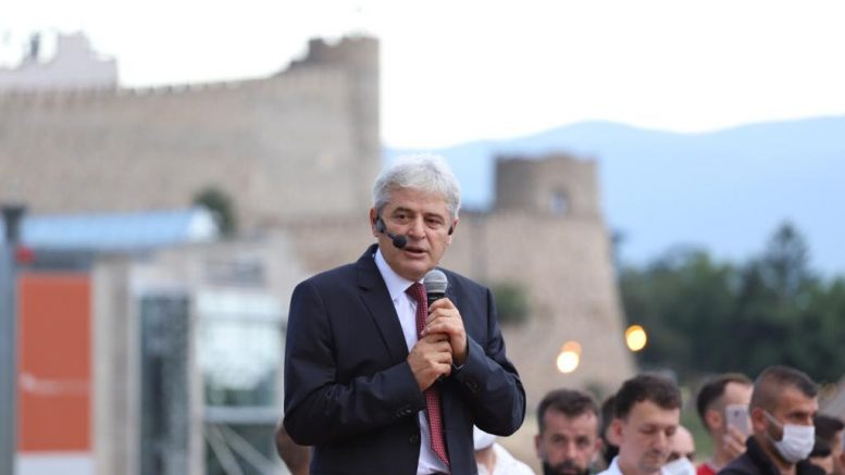 Ahmeti in Struga: They are terrified of the idea of an Albanian Prime Minister