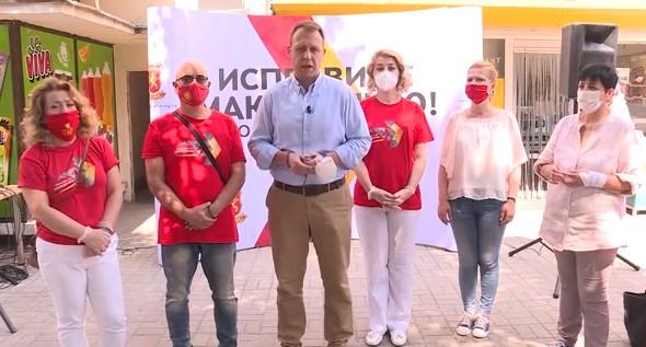 Janusev visits Sveti Nikole, promises the farmers that VMRO will guarantee their subsidies