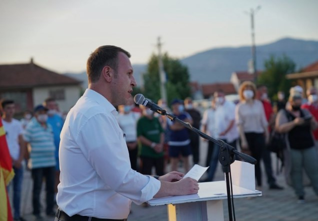 Janusev: Zaev is the biggest virus of crime and corruption, a virus of lies and manipulations, so let's defeat him, vote for number 14