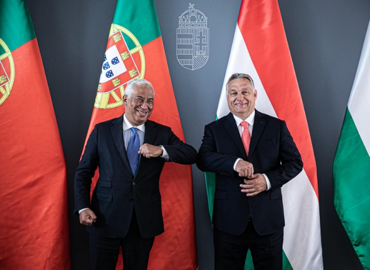 V4: Orban meets Portuguese PM Costa to discuss the EU budget