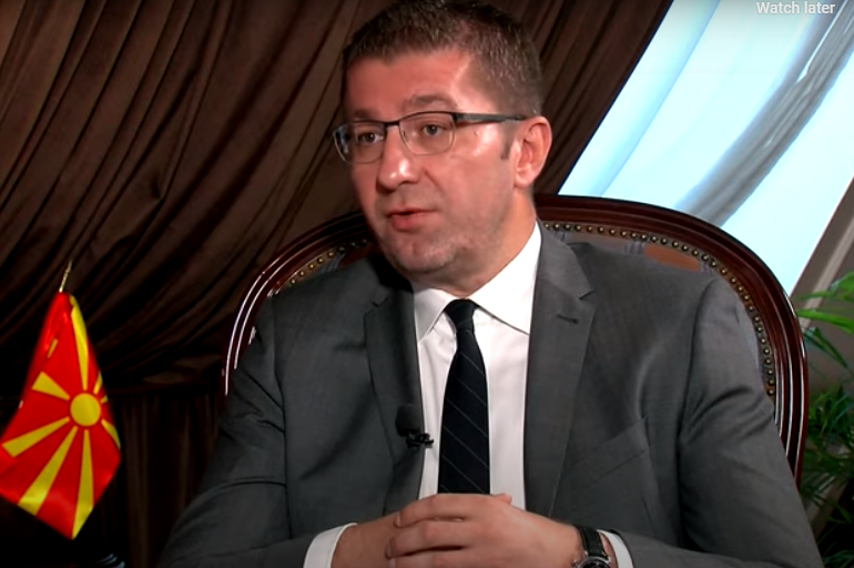 Mickoski: We do not negotiate under dictation and blackmail