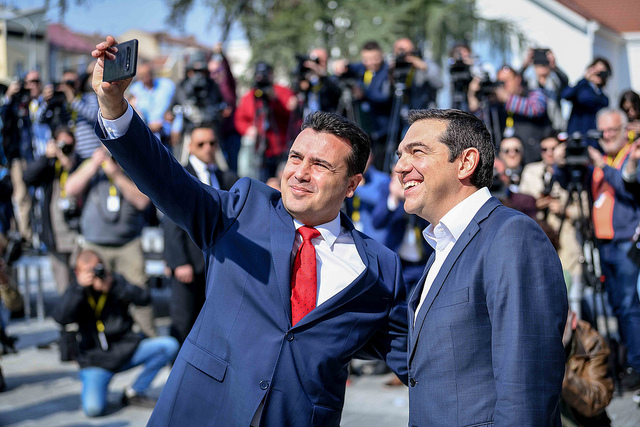 Tsipras makes a lyrical endorsement of Zaev but to many it sounds like he was mocking Macedonia