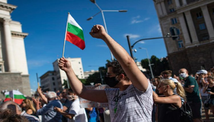 Seven protesters arrested during rallies in Bulgaria