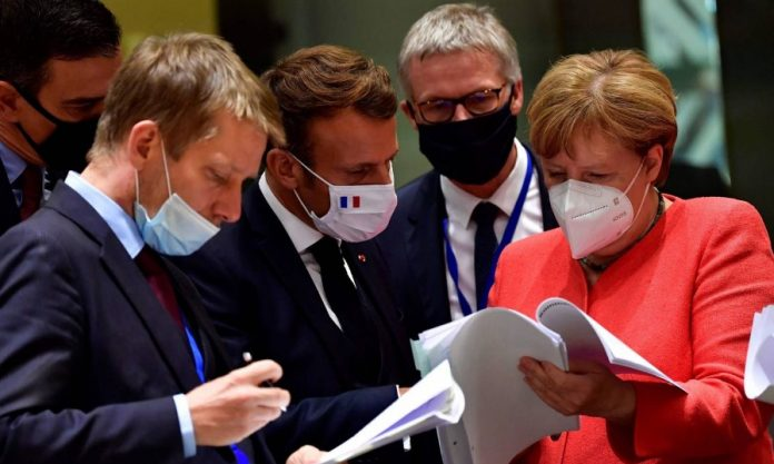EU leaders strike deal on historic coronavirus stimulus package