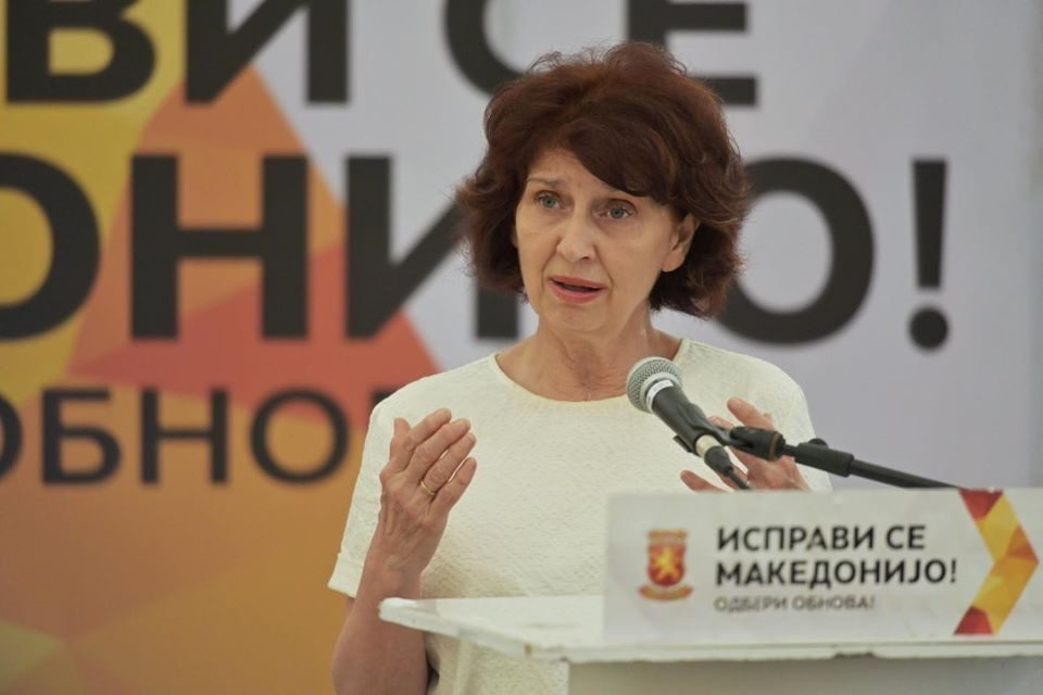 On July 15, we must put an end to the disastrous rule of SDSM, Siljanovska-Davkova says in Karpos