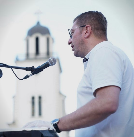 Mickoski in Gostivar: The concept of honor, dignity and pride will win on July 15