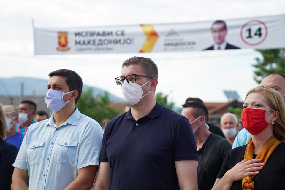 Mickoski asks voters to choose pride, economic renewal