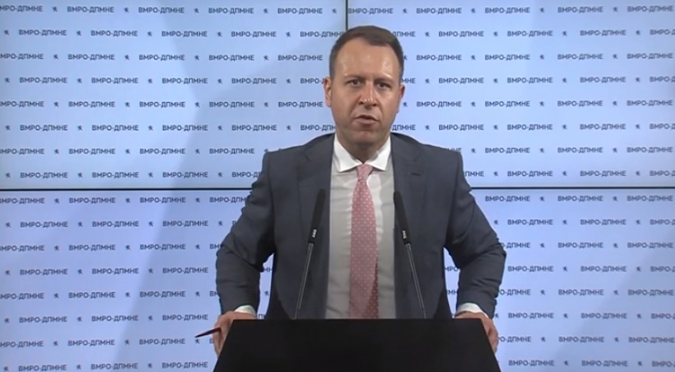 Janusev: SEC is recounting the votes at VMRO-DPMNE's request