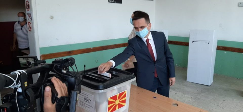 Kasami says that the vote for BESA and SDSM is a vote for EU membership