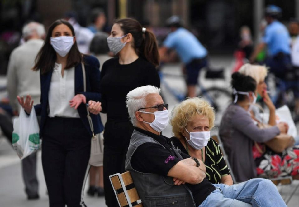 MoI: 301 people caught without face masks