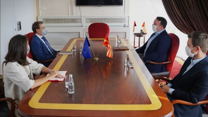 VMRO-DPMNE is making efforts to form a government on principled grounds and European values