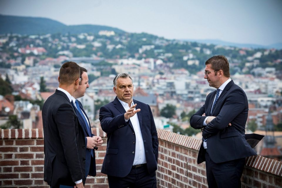 Orban with support for VMRO-DPMNE and Mickoski: Together we built cooperation based on national pride