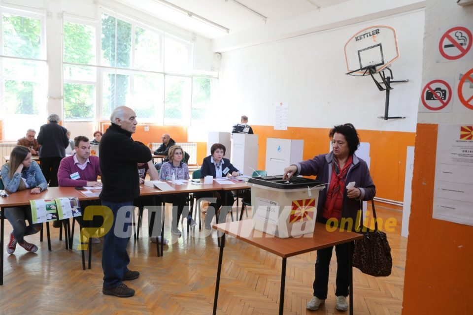 Tenth early parliamentary election in Macedonia