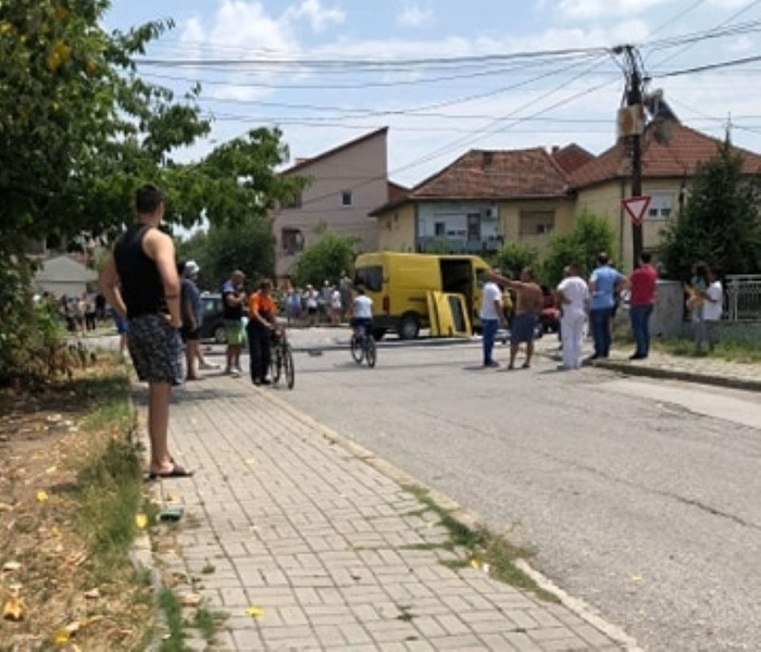 Migrant trafficker causes a major accident in Strumica