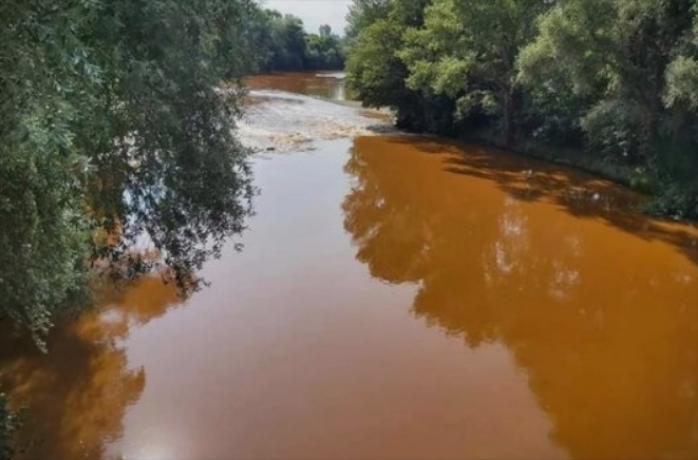 Inspectors still looking into what caused the Vardar river to flow red