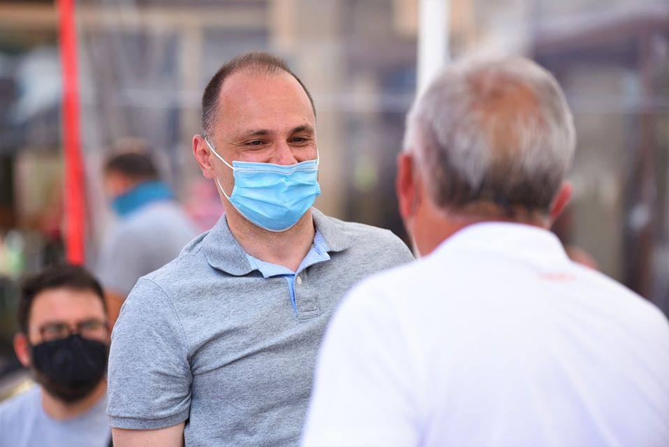 Filipce forecast 2,000, and the number of Covid-19 cases in Macedonia exceeded 7,000