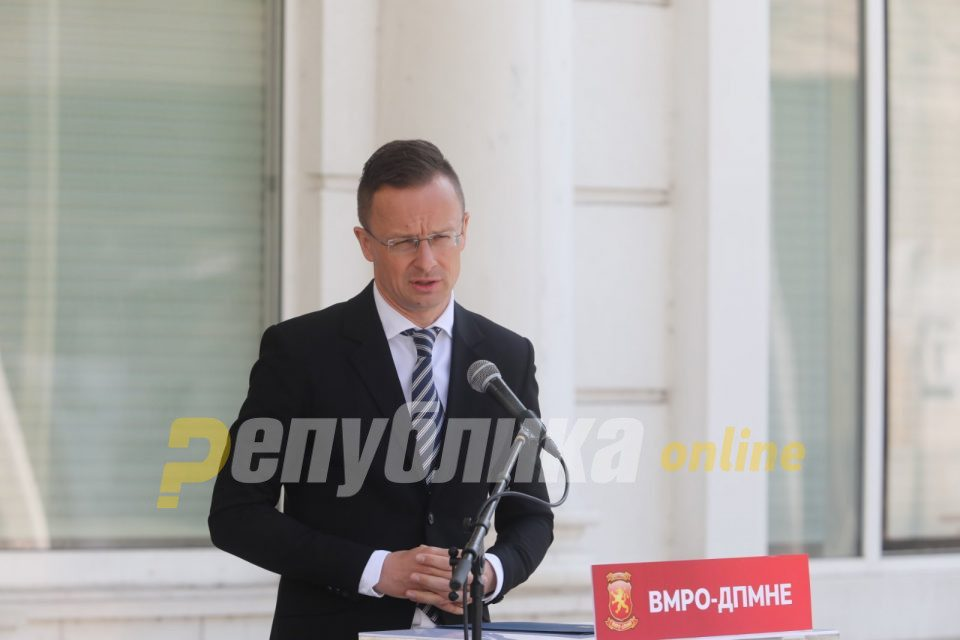 Szijjártó: EU could only be strong if its members are strong and insist on their identity