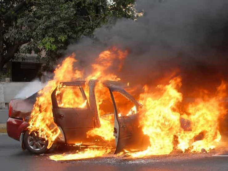Car torchings became common under the Zaev regime