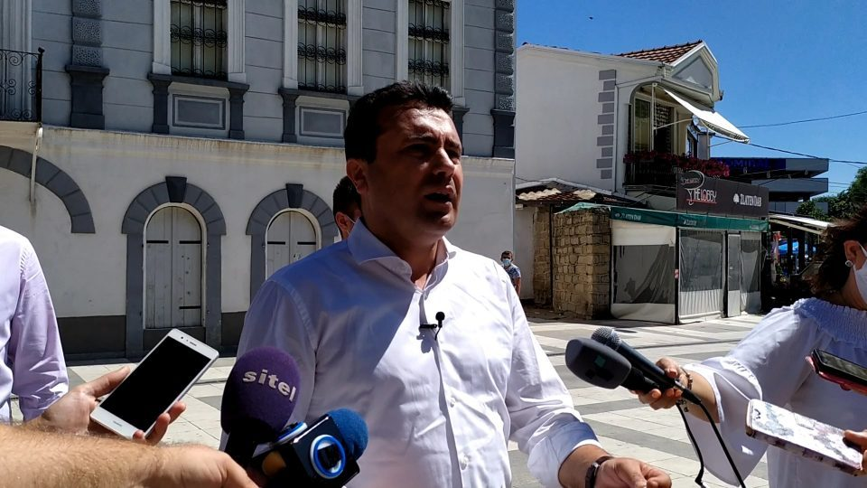 Zaev says he would include Albanian parties in a coalition, but without accepting their blackmails