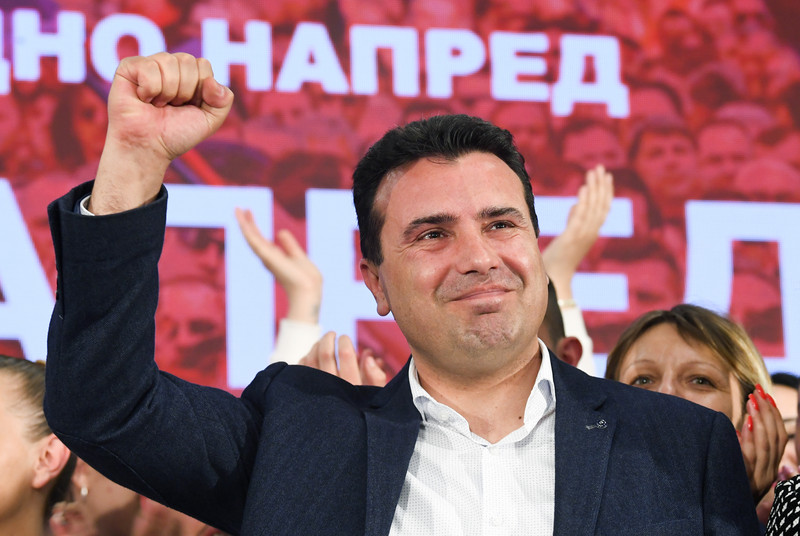 After asking VMRO for a minority Government, Zaev now says he's open to coalition with DUI and/or AA