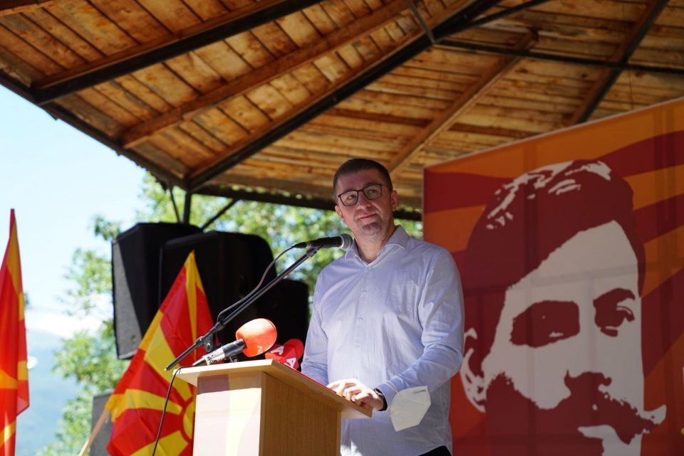 Mickoski is determined to urgently give fresh energy to VMRO-DPMNE