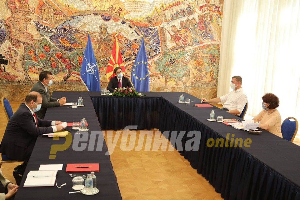 VMRO-DPMNE: Pendarovski acknowledged that the mandate was given without proof and contrary to the Constitution
