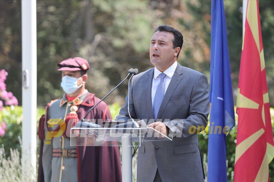 Zaev is a man who lies shamelessly