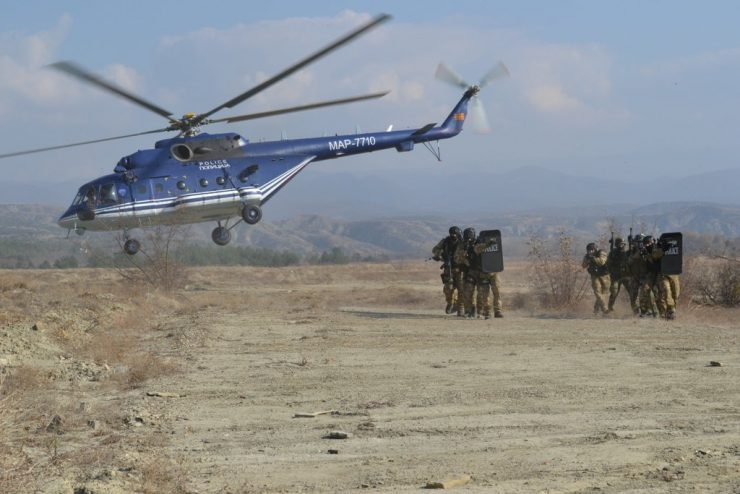 170 members of the US Armed Forces to hold joint training with members of Macedonia's Army at Krivolak army field