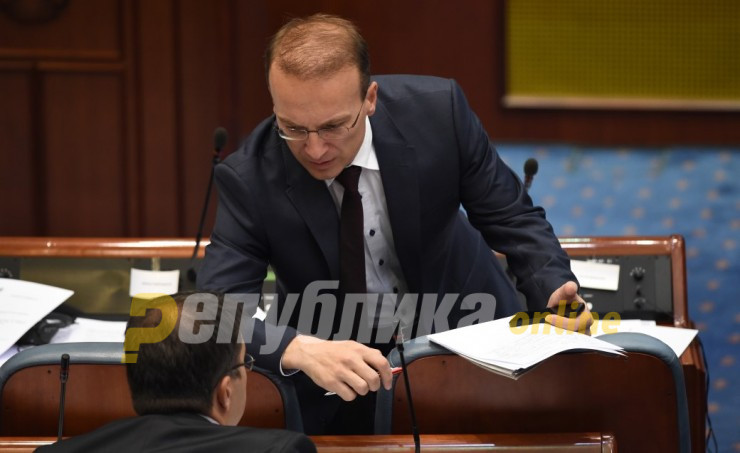 Milososki: Instead of the Constitution, Pendarovski chose Zaev, who does not have 61 signatures from MPs