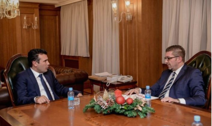 Mickoski: Zaev is the last person who should talk about uniting the Macedonian political bloc