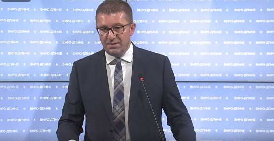 Mickoski: Ahmeti told me he will try to negotiate with Zaev, I wished him good luck