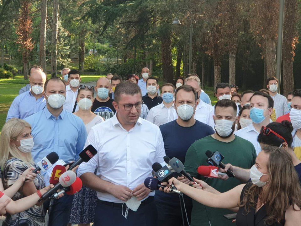 VMRO-DPMNE freezes relations with President Pendarovski