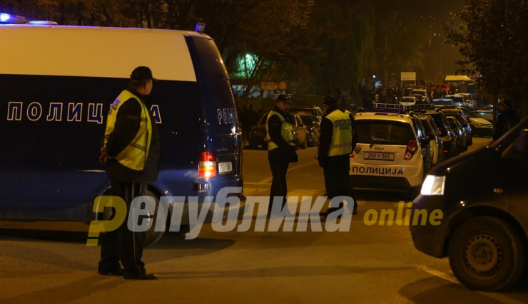 Man killed in front of his family during an armed robbery near Skopje
