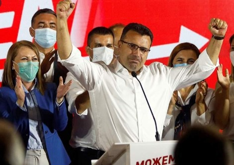 """Zaev said that a meeting could also take place among """"non-Albanian citizens"""""""