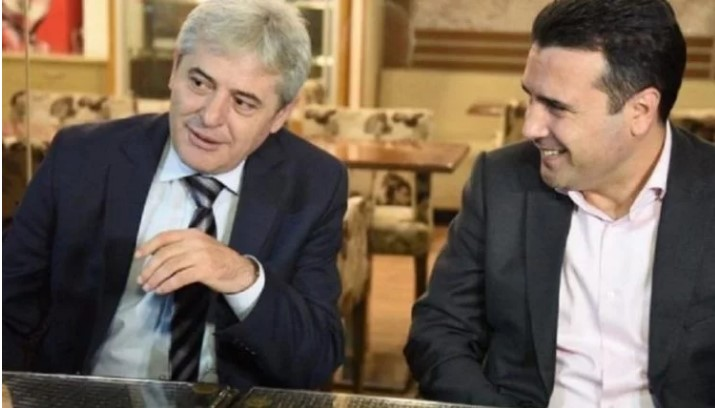 Ahmeti meets with Zaev to see if they can restore trust after the bitter campaign